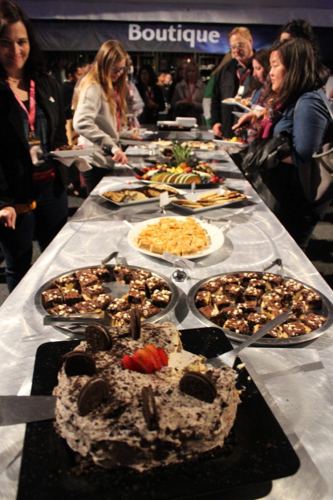 Cavalia VIP dessert table