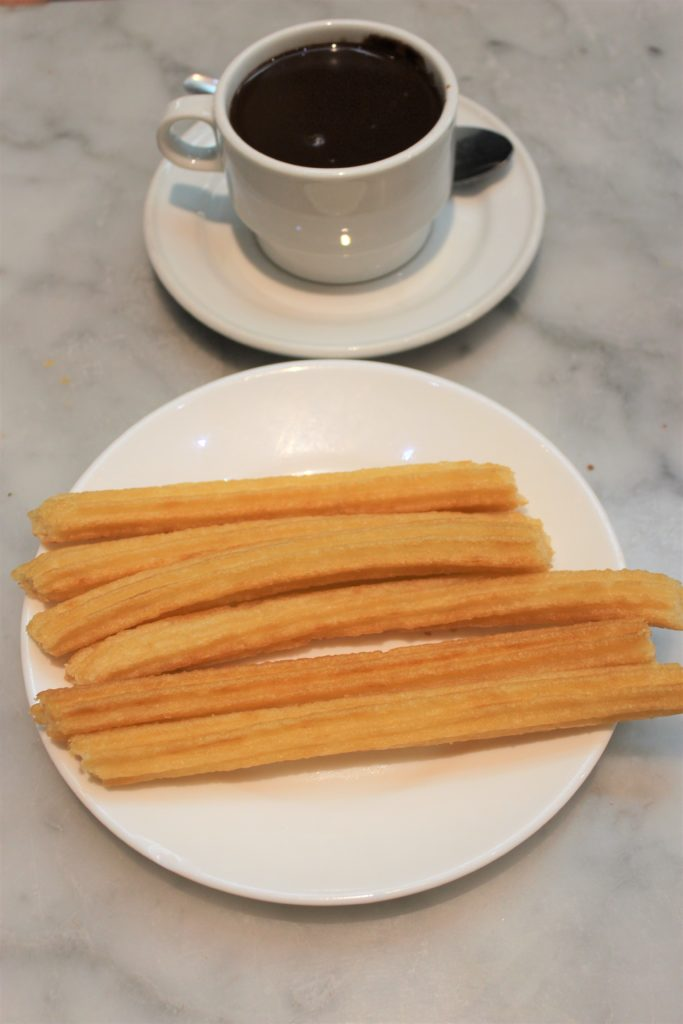 Madrid eats churros