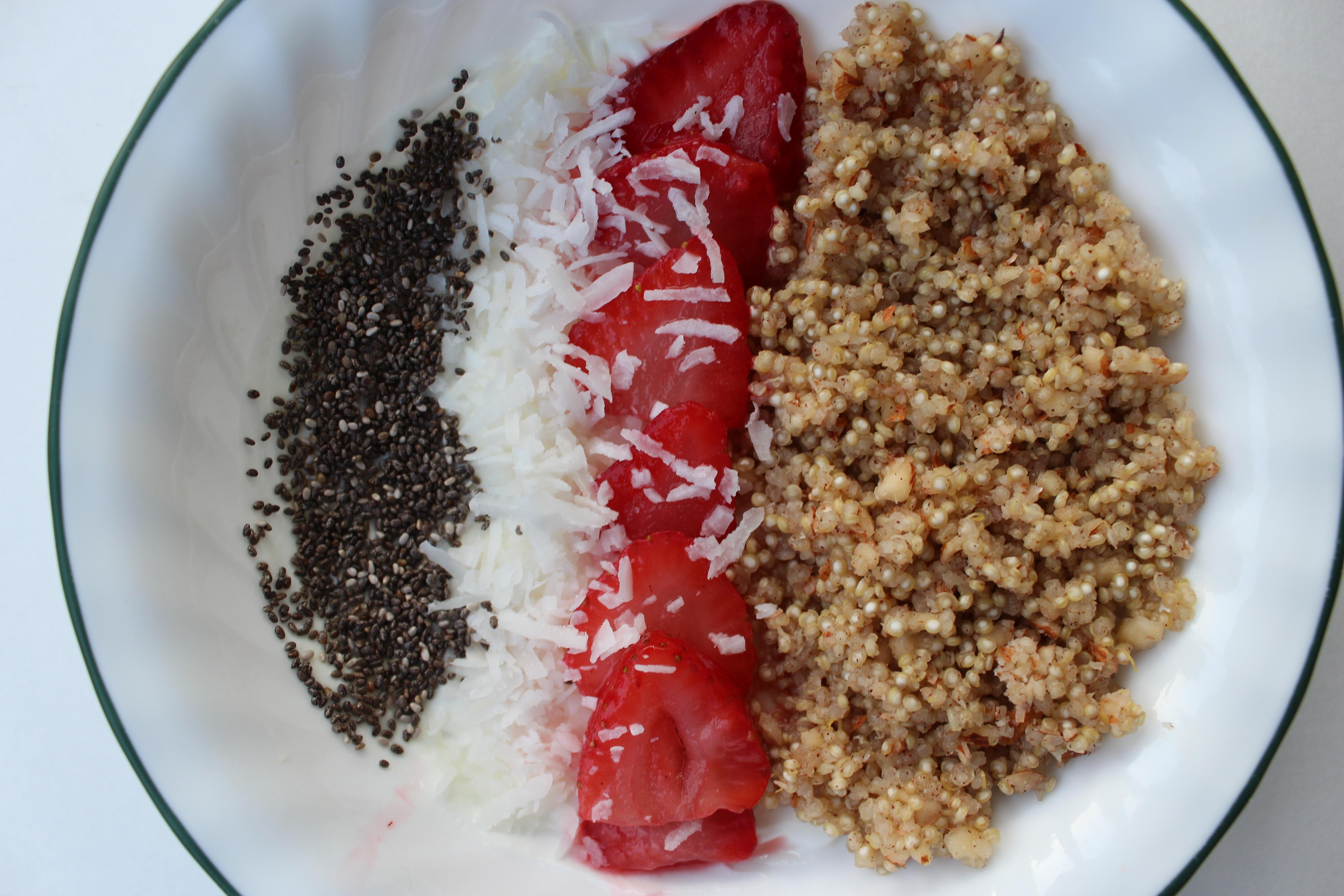 Maple Cinnamon Quinoa Bowl: Family Breakfast